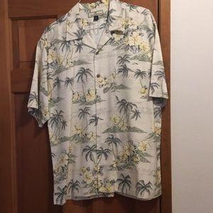 Tommy Bahama silk shirt.